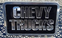 New! Chevy Chevrolet Trucks Hitch Chrome Insert BNIB-Towing, General Motors, GMC, Saint Marys