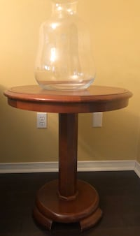2 x Solid wood side tables: Price for both tables Vaughan, L4J 7S6