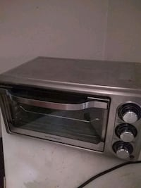 Small oven stainless steal