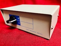 Umschalter 2-Way Data Transfer Switch Box Keyboard & VGA Good Condition Las Vegas, 89131