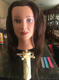 Marianna mannequin head and tools