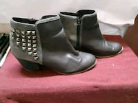 Studded leather ankle boot Toronto, M5S 2M2