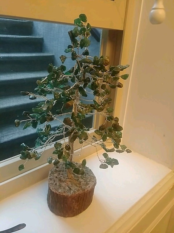 Jade Stone decorative tree