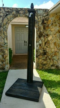 black and gray floor lamp Cutler Bay, 33189