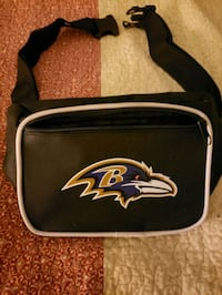 Ravens Canvas Fanny Pack Riviera Beach, 21226