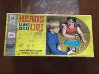 Vintage Math Game For Kids Heads Up Milton Bradley Age 8 To Adult Numbers Kaufman, 75142