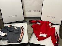 Baby boy clothes Gucci sweater and shorts worn once Christmas gift Silver Spring, 20902