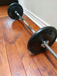 Weight  Plates and Z Bar Mississauga, L4Z 3Y2