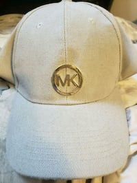 white Michael Kors fitted cap Winnipeg, R2L 0Y6