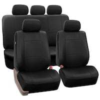 Leather Car Seat Cover - Black Toronto, M1R 3N6