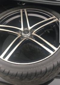18 inches rim with good tires  Brampton, L6W 1L3