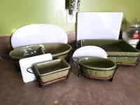 Serving dishes set of 4 with lids perfect for any  Edmonton, T6B 2Y5