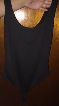 Plain black bodysuit  Burnaby, V3N 2T1