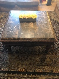 Black and brown marble table Nashville, 37219