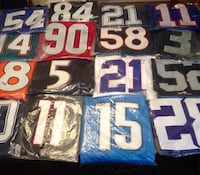 Over 300 NFL jerseys.  All teams and sizes  Super Bowl players as well Stony Point, 10980