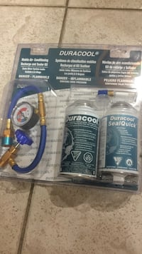 Automotive Air Conditioning Recharge Kit