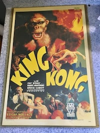 King Kong movie poster Brock, L0K