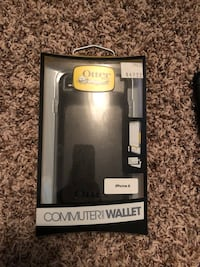 black Otter commuter wallet for iPhone case box Grande Prairie, T8V 5H8