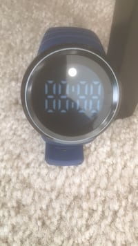 round black and gray digital watch Rockville, 20850