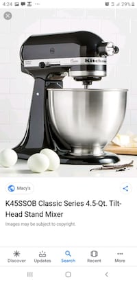 kitchen aid mixer Toronto, M6E 1C3