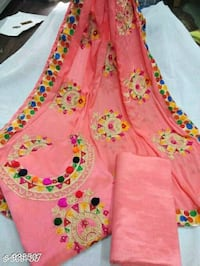 pink and yellow floral sleeveless dress Dehradun, 248001