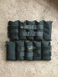 Ankle Weights - 10 pounds each.  Louisville, 40203