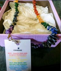 Brand New Healing Chakra Necklace with Tags! Toronto, M9R 1Z2