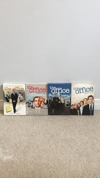 four the Office DVD movie cases