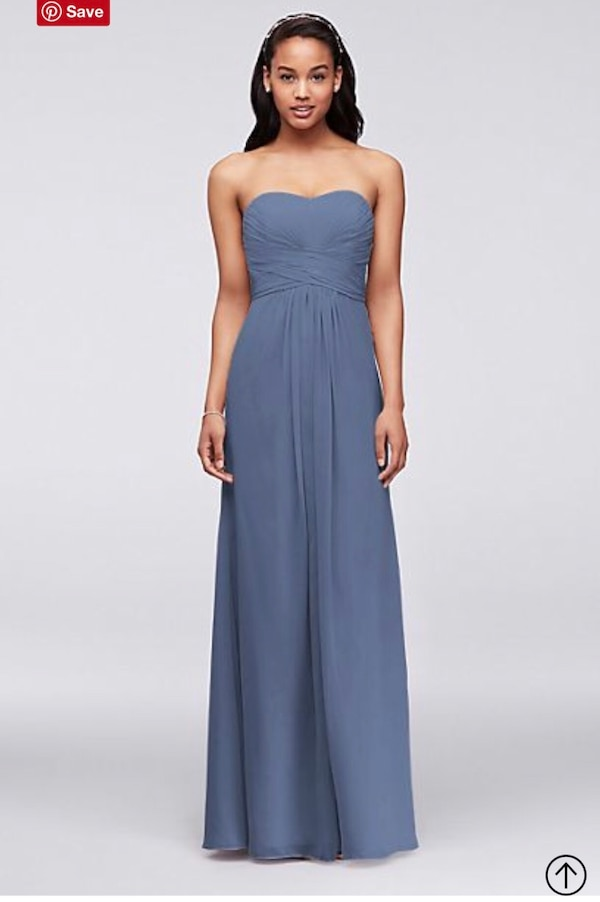 4a5355780f4 Used Strapless Bridesmaid Dress Size 2 for sale in Georgetown - letgo
