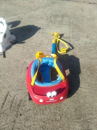 Little Tikes red and blue hanging jumper 646 mi