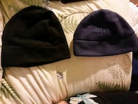 black and blue fleece hats 76 km