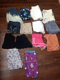 Teen Female Shorts Bundle Toronto, M6M 2Z6