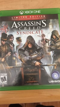 Xbox 1: Assassin's Creed Syndicate Rockville, 20852