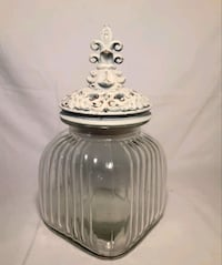 Glass Canister with Decorative Lid,  Bakersfield, 93311