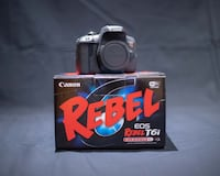 Canon t6i camera with bonus Toronto
