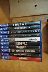 PS4 Games $15 each game