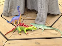 Toddler's three dinosaur and alligator plastic toys Winchester, 22602