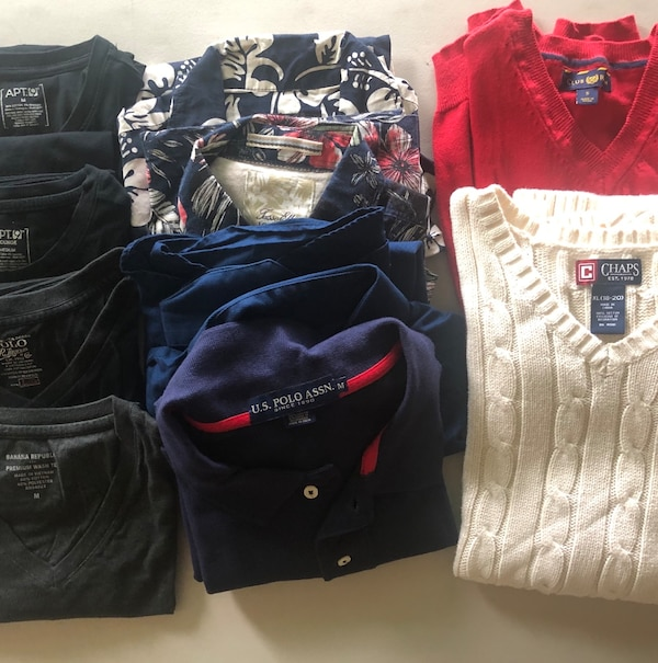828a169f Used 10 shirts/Sweaters. all for $15. Men's/Boys sizes for sale in San Jose  - letgo