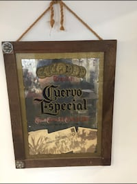 Cuervo Especial Mirror Sign
