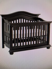 Baby's brown wooden crib Falls Church, 22042