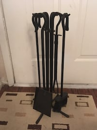 Metal tool set for fire place  Houston, 77079