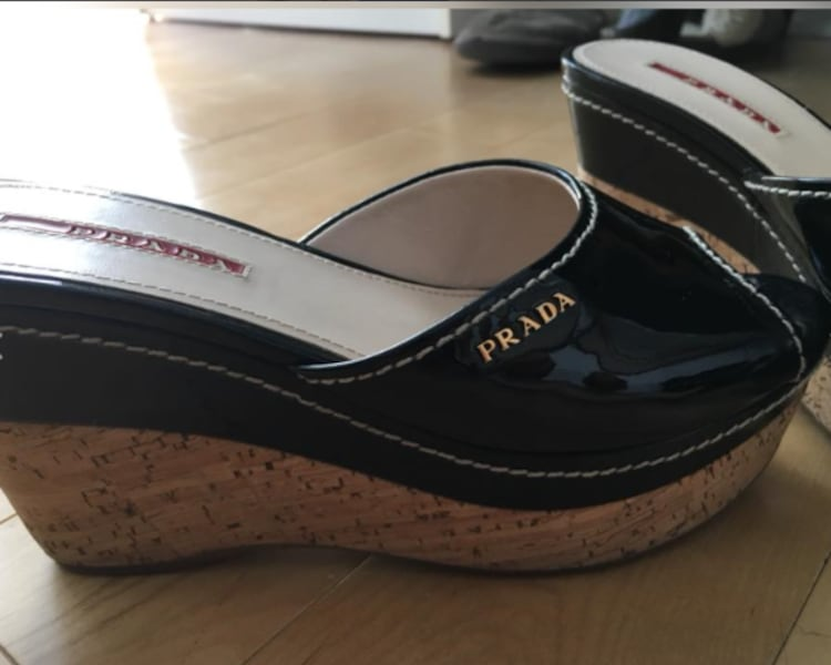 Prada Wedges- DESIGNER SHOES 2d062b75-4795-4a5c-93af-41413118daa4