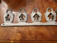 Cast iron Key holder Virginia Beach, 23462