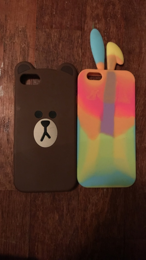 Two cute phone cases! iphone 7