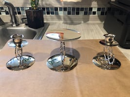 Unity Candle Holder (3Pieces)