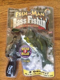 Vintage bass fishin game  Medfield, 02052
