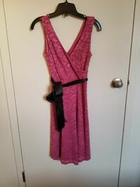 Le Chateau Pink Lace Dress Calgary, T2N 4J5