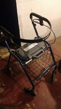 blue and black rollator Des Moines, 50310