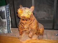 Bear Chainsaw Sculpture Concord