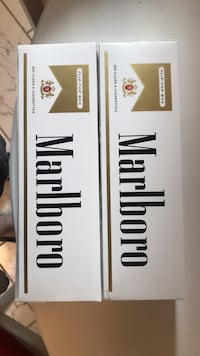 2 Marlboro Gold Pack Cartons Mount Rainier, 20712